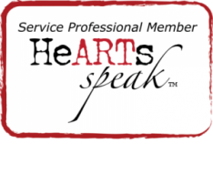 Service Professional Member of HeARTs Speak. Artists. Helping. Animals.
