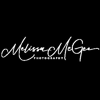 Melissa McGee Photography Logo-White