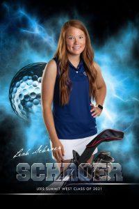 Leah Schroer_SENIOR BANNER_LSW_Golf_2020_24x36-BANNER